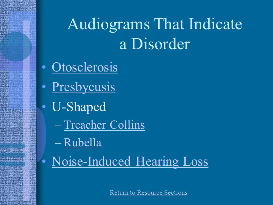 Audiograms That Indicate a Disorder