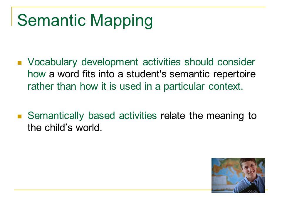 Semantic Mapping