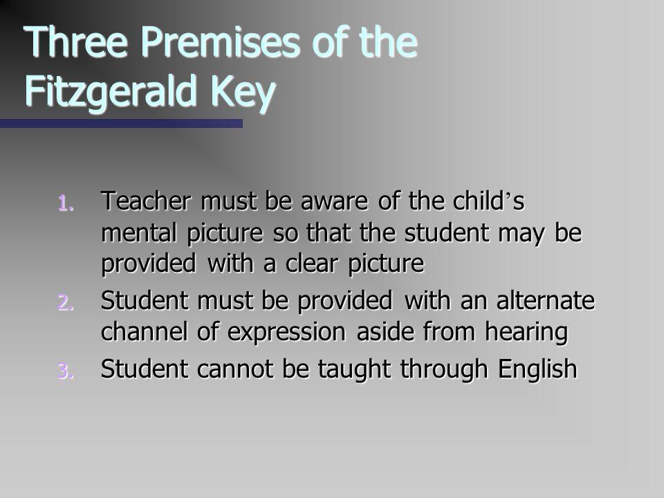 Three Premises of the Fitzgerald Key