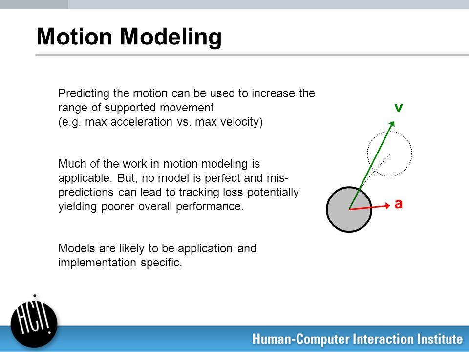 Motion Modeling