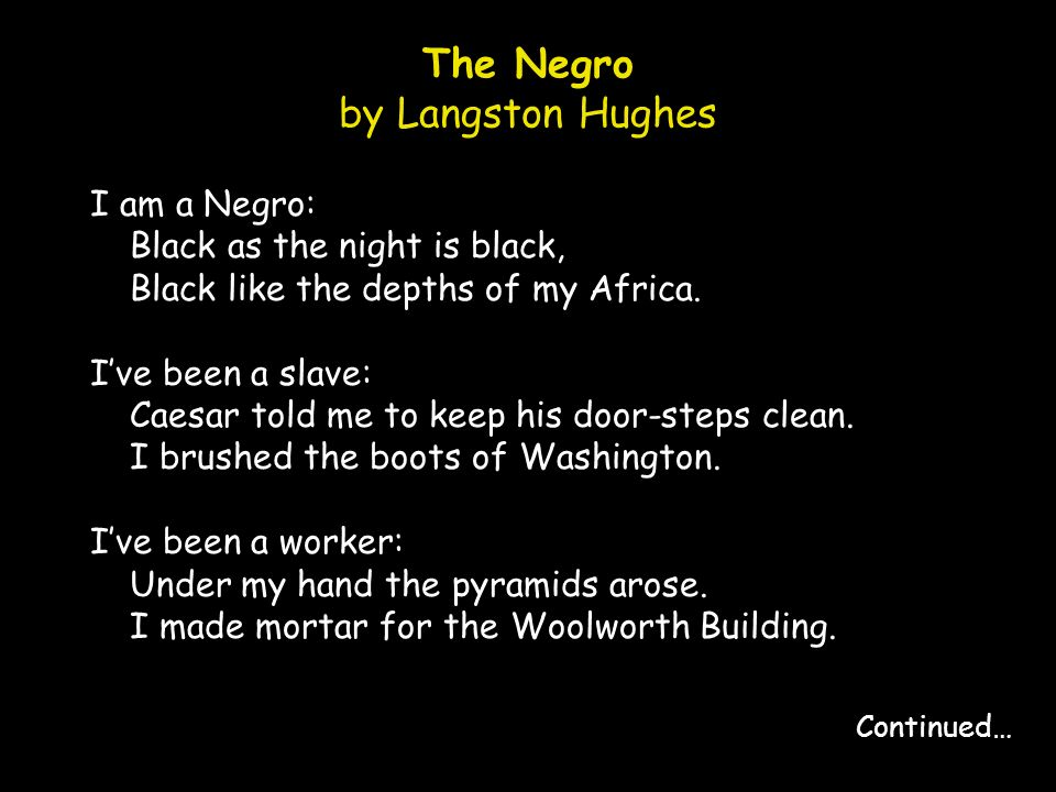 langston hughes the bitter river Jim beatty langston hughes's the bitter river is a complex analysis of how racial and class oppression operate in an articulated fashion, which suggests that the two facets of identity cannot be as easily separated as current critical treatments of.