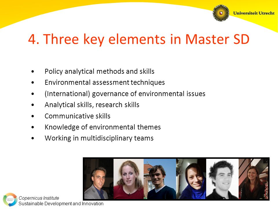 4. Three key elements in Master SD