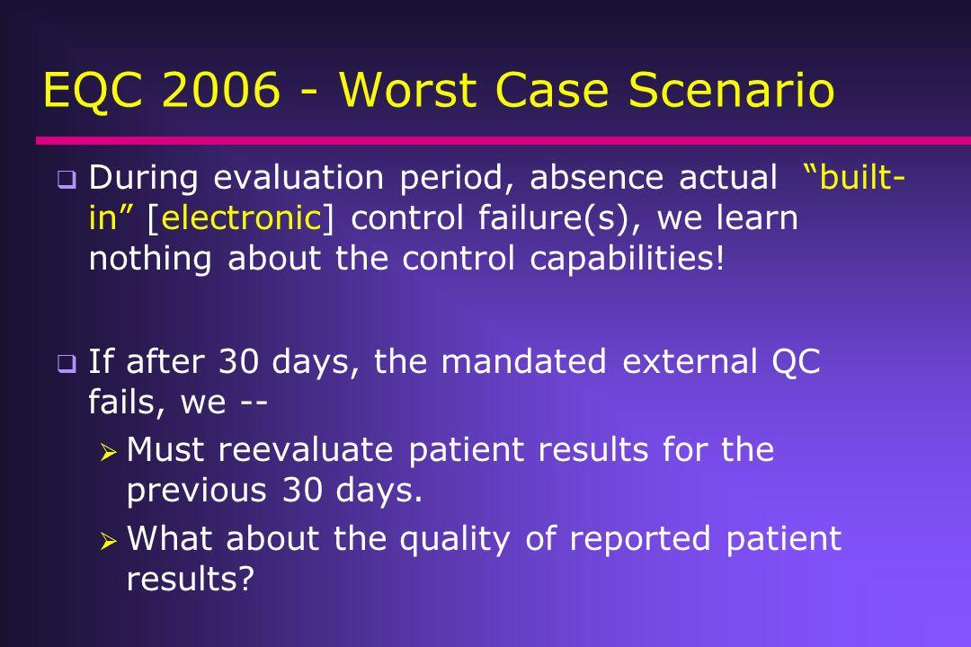 EQC 2006 - Worst Case Scenario