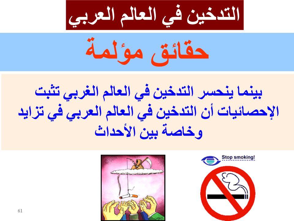 التدخين في العالم العربي