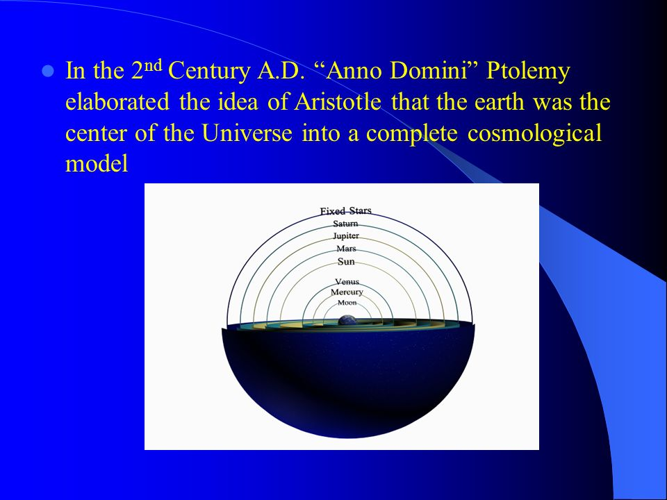 In the 2nd Century A.D.