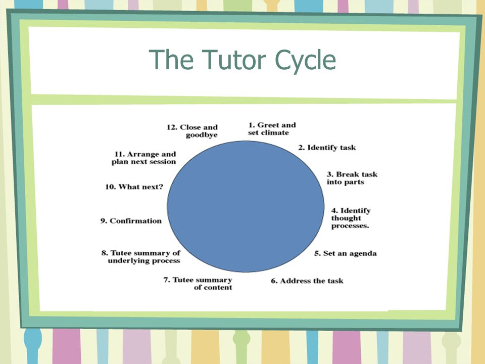 The Tutor Cycle