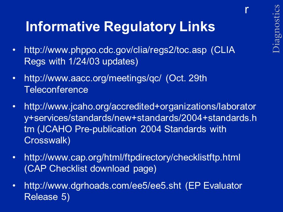 Informative Regulatory Links