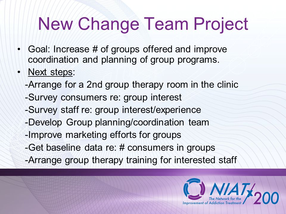 New Change Team Project