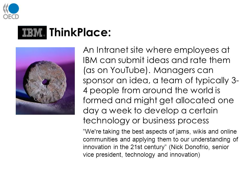 ThinkPlace: Innovation from within