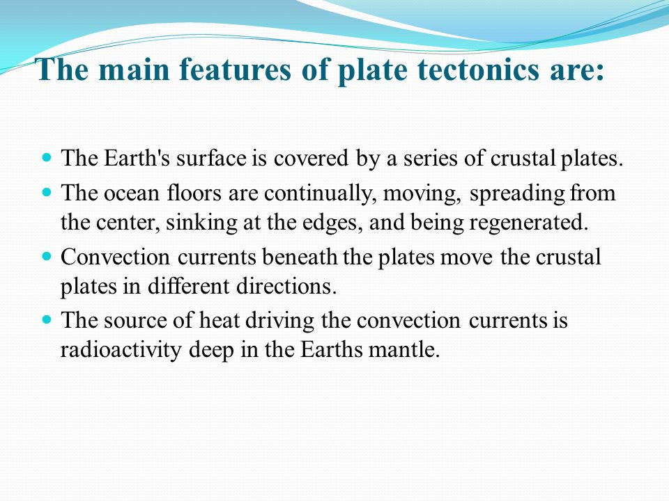 an analysis of the earths surface as covered by a series of crustal plates Teacher resources and professional development across the curriculum teacher professional development and classroom resources across the curriculum.