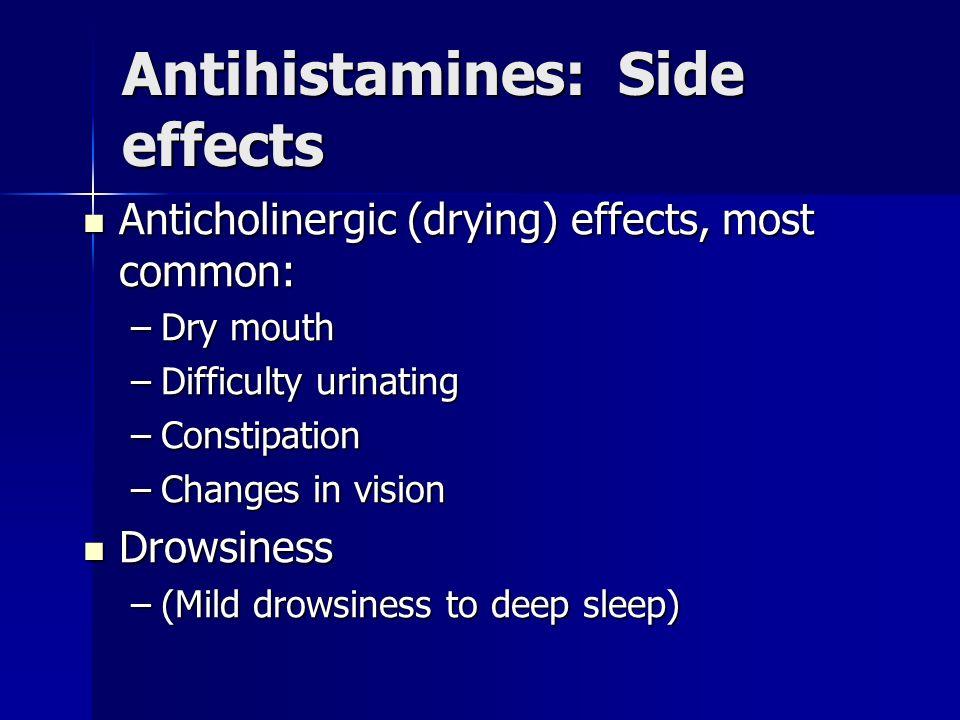 Allegra Side Effects Constipation