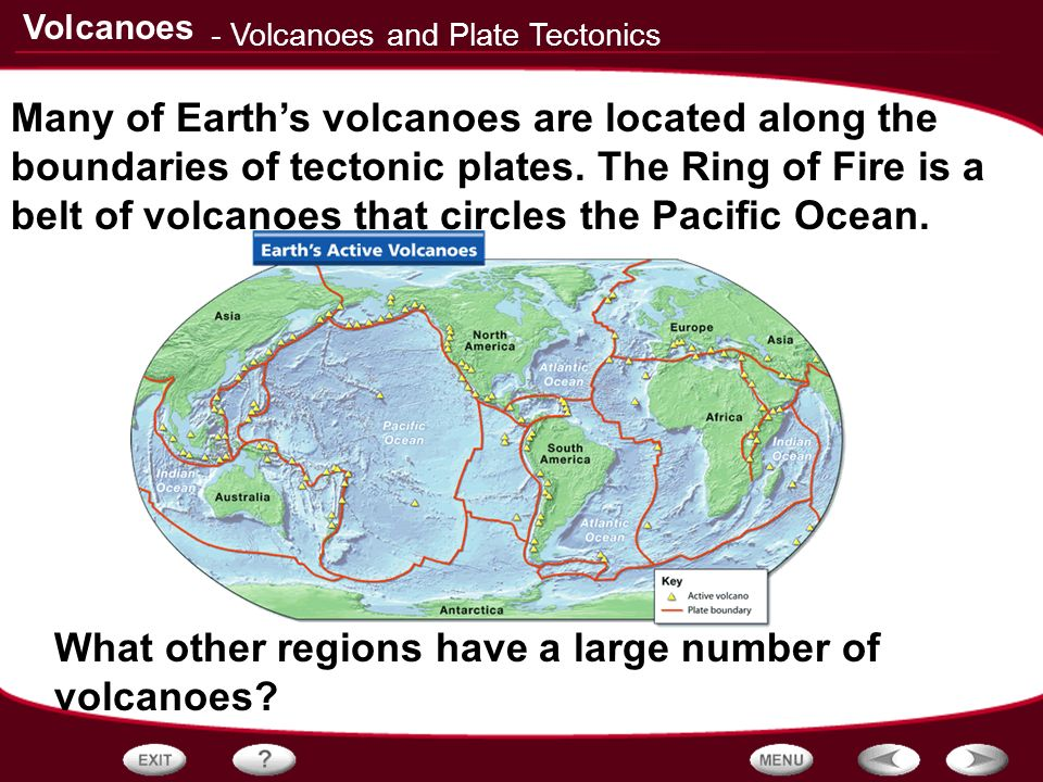Table of Contents Volcanoes and Plate Tectonics Properties of ...