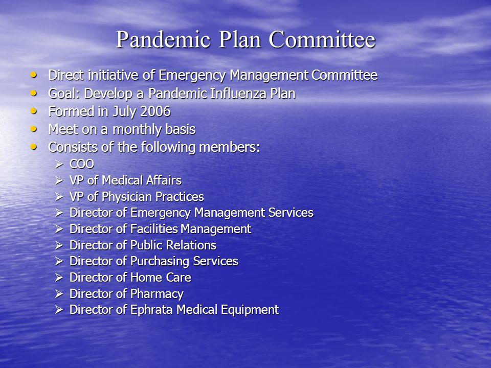Pandemic Plan Committee