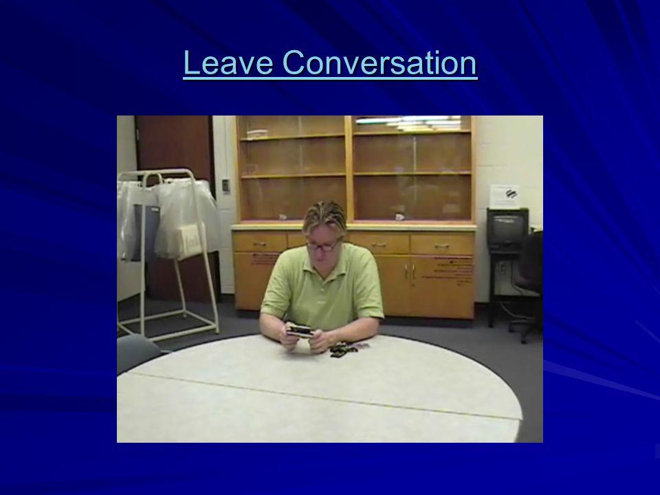 Leave Conversation