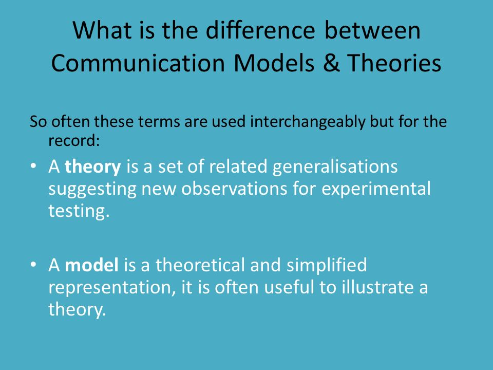 what is communication theory Communication theory has one universal law, written by s f scudder in the early 1900s, and later published in 1980 the universal communication law states that, all living entities, beings and creatures communicate.