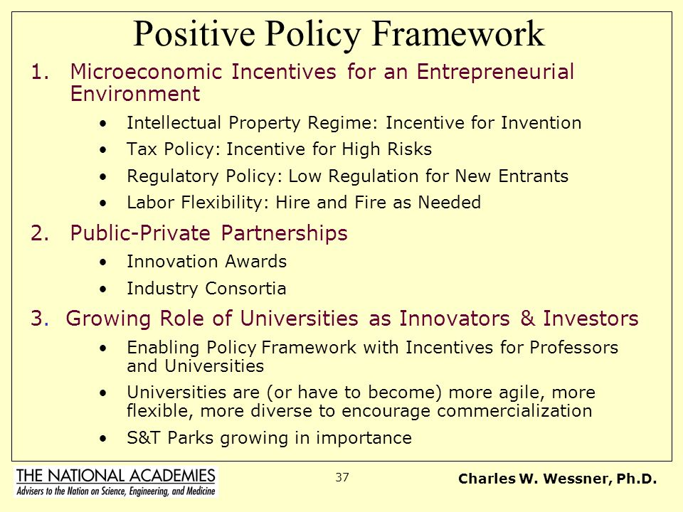 Positive Policy Framework