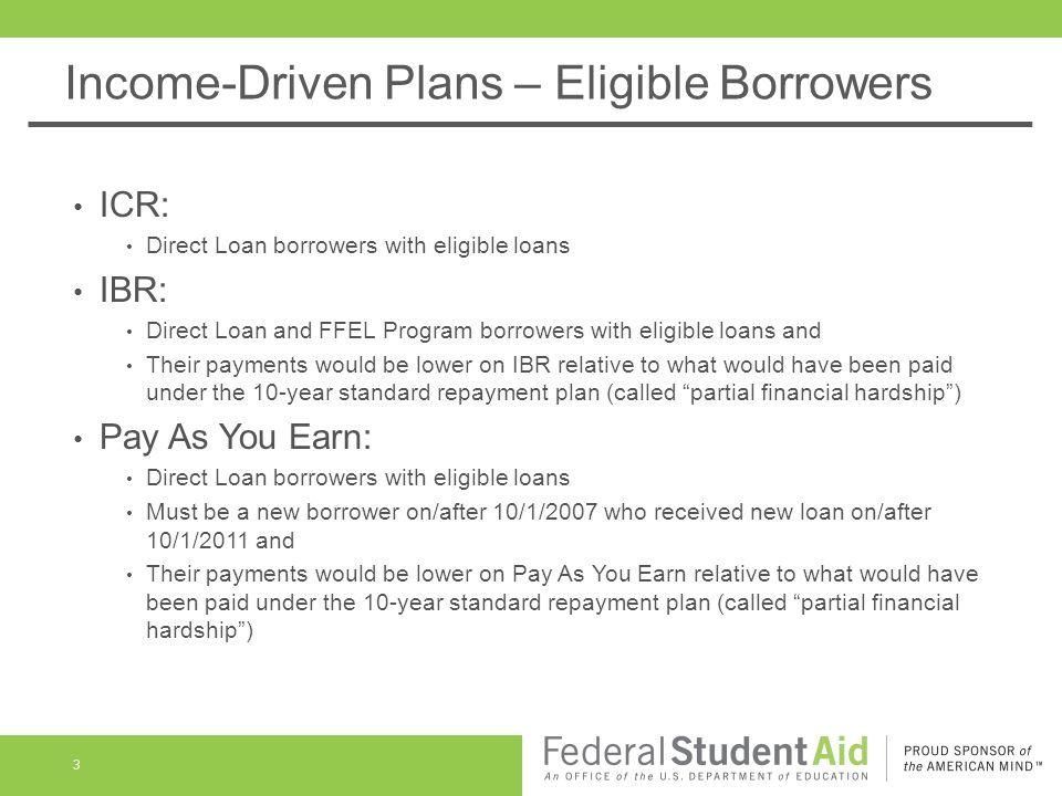 IncomeDriven Repayment Plans  Public Service Loan Forgiveness