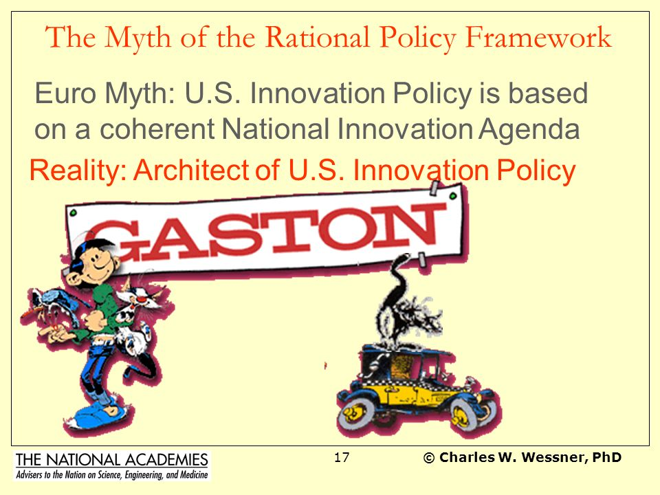 The Myth of the Rational Policy Framework