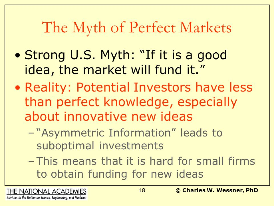 The Myth of Perfect Markets