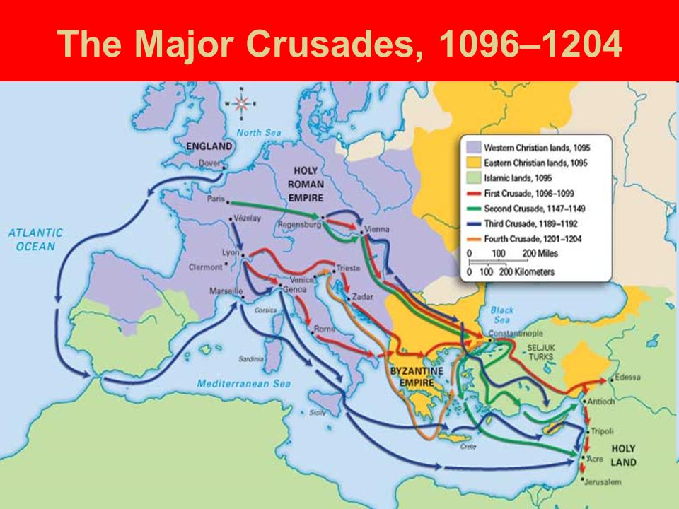 how religion has caused many schisms in history of the religious crusades in the middle east