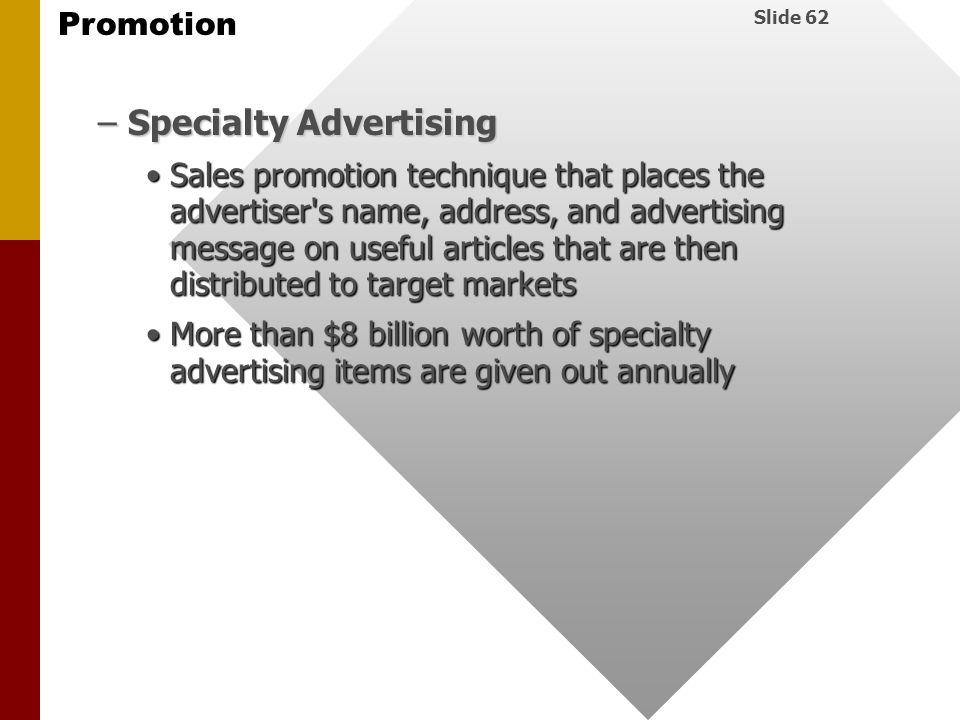 Specialty Advertising