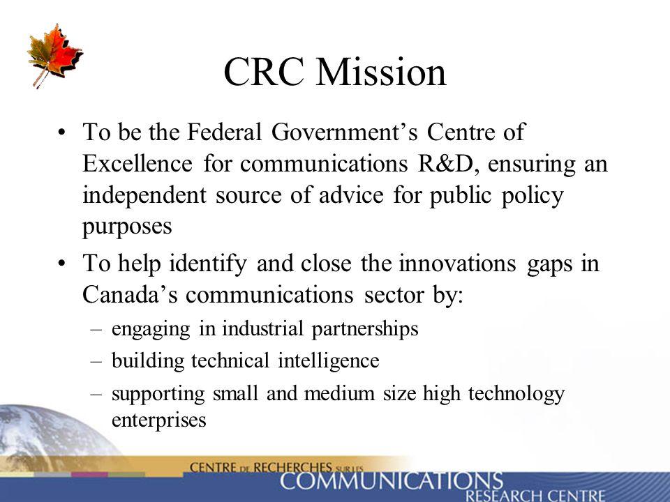 CRC Mission