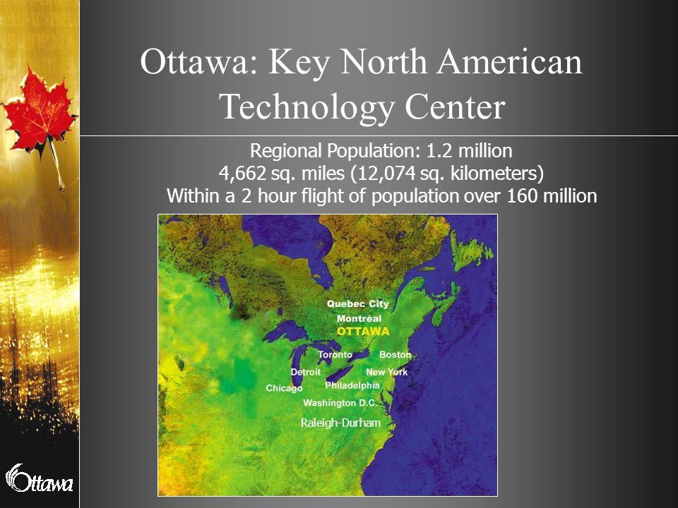 Ottawa: Key North American Technology Center