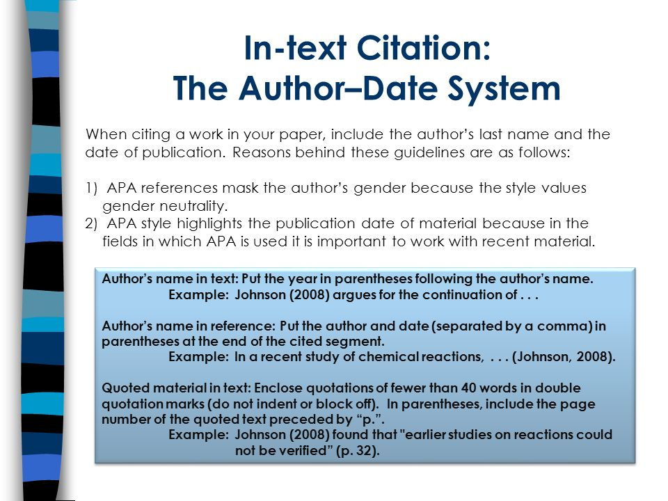 an introduction to citing and referencing according to