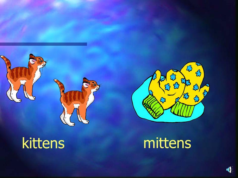 kittens mittens