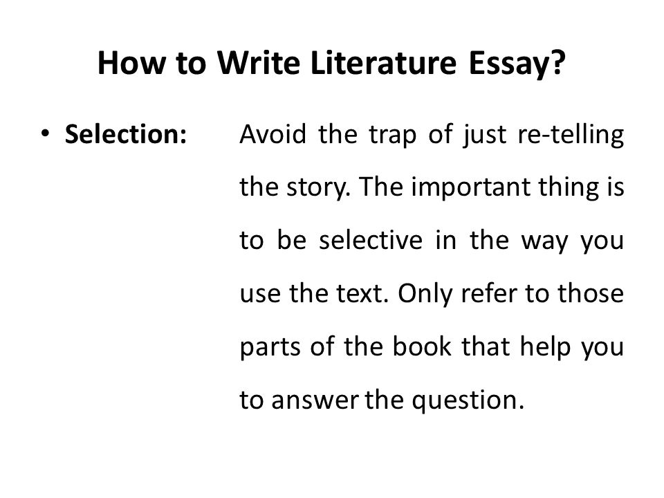 how to answer context questions in literature