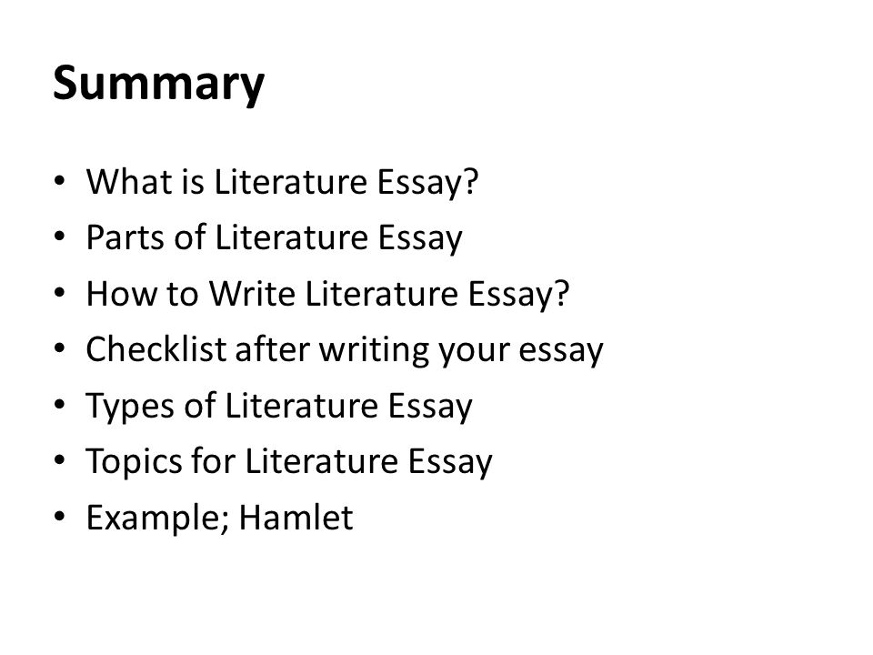 Literary Criticism Essays Of Hamlet