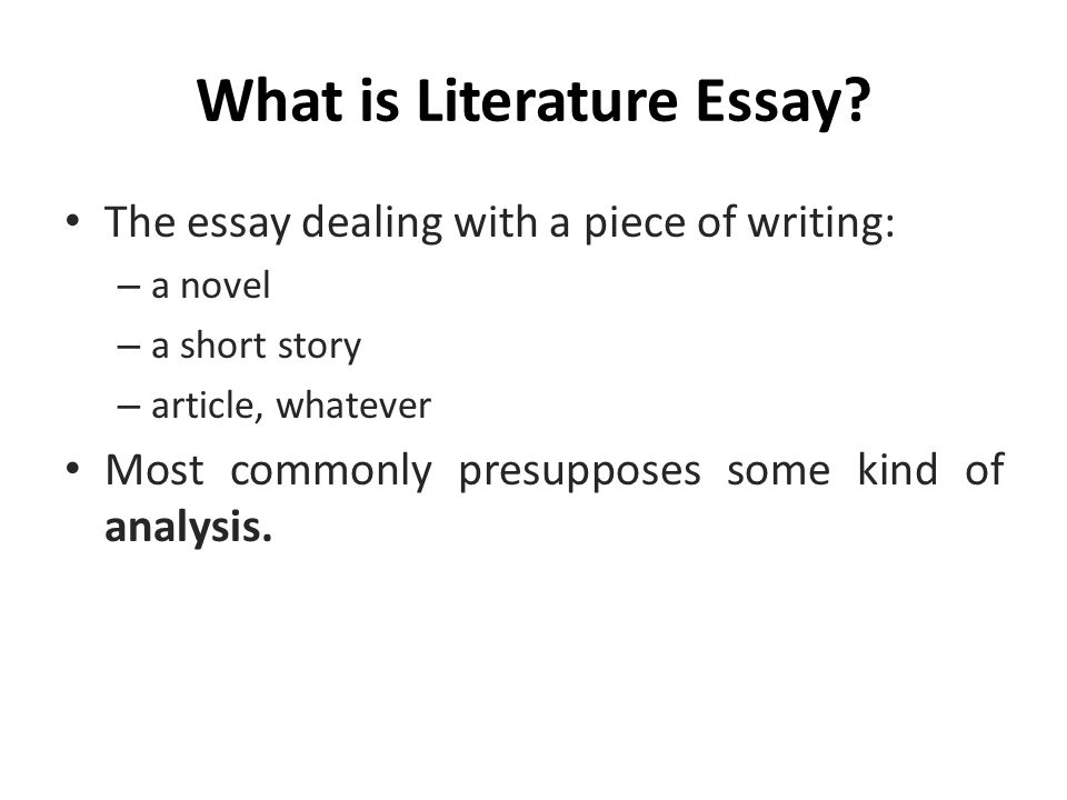 lecture literature essay ppt video online  3 what is literature