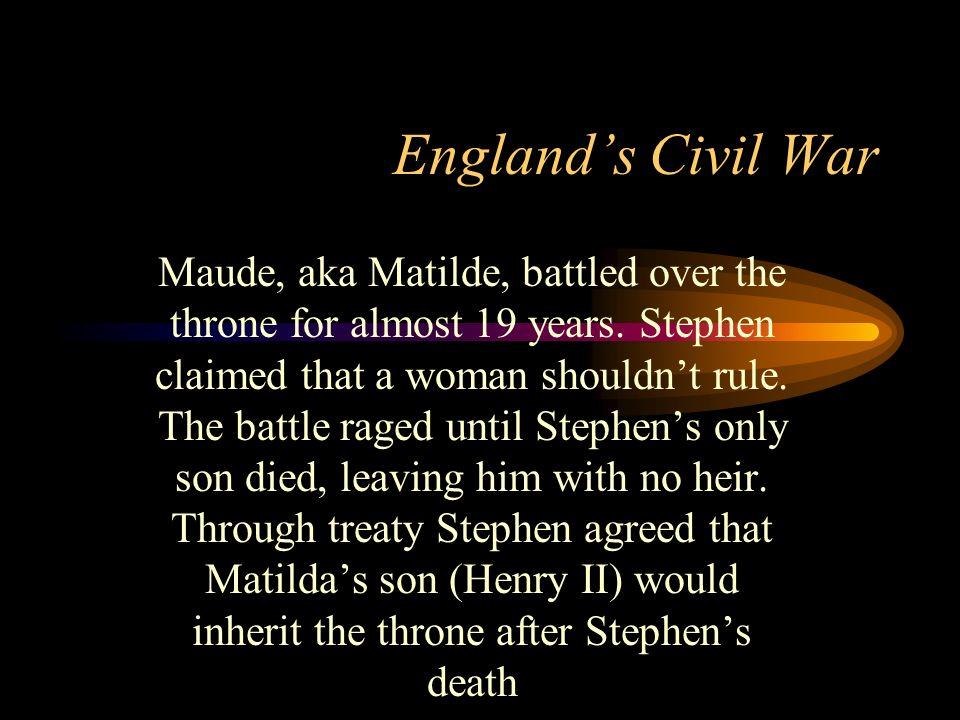 England's Civil War