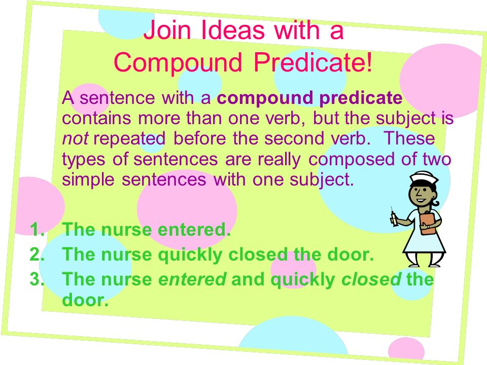 Join Ideas with a Compound Predicate!