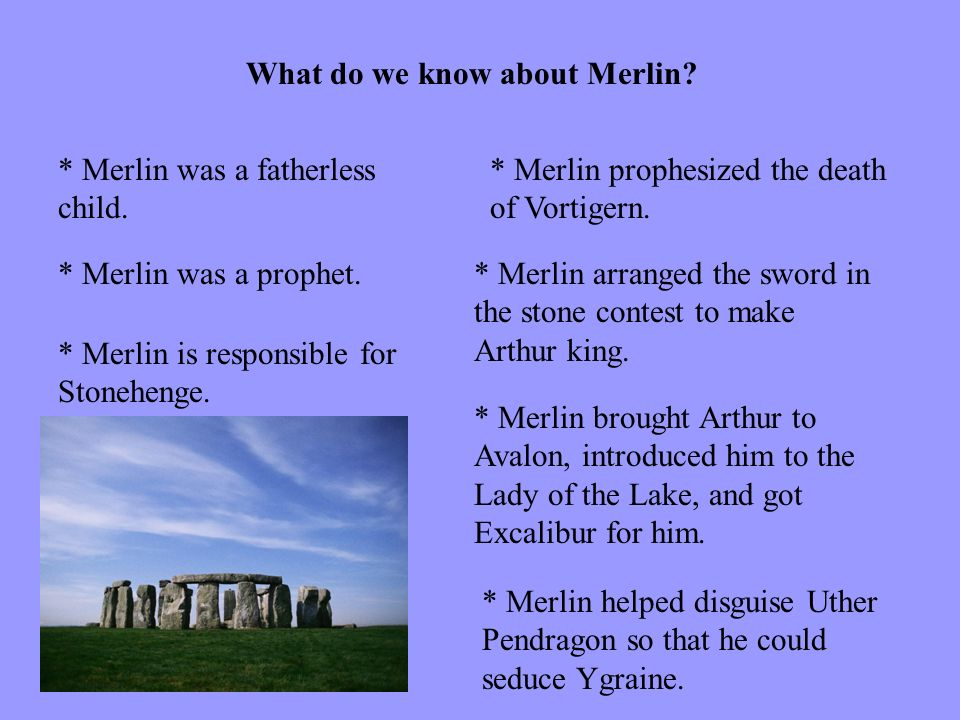 What do we know about Merlin