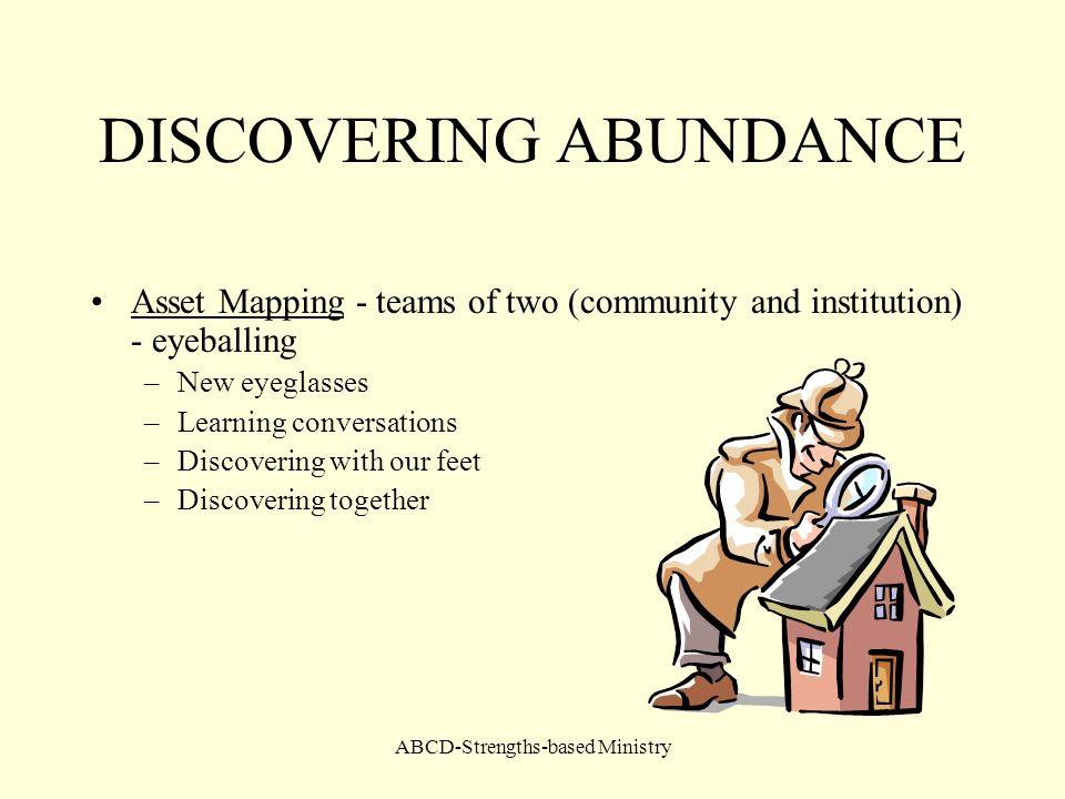 DISCOVERING ABUNDANCE