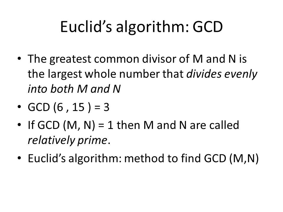 C Program to find GCD of Two Numbers