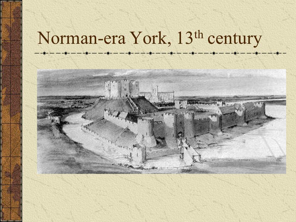 Norman-era York, 13th century