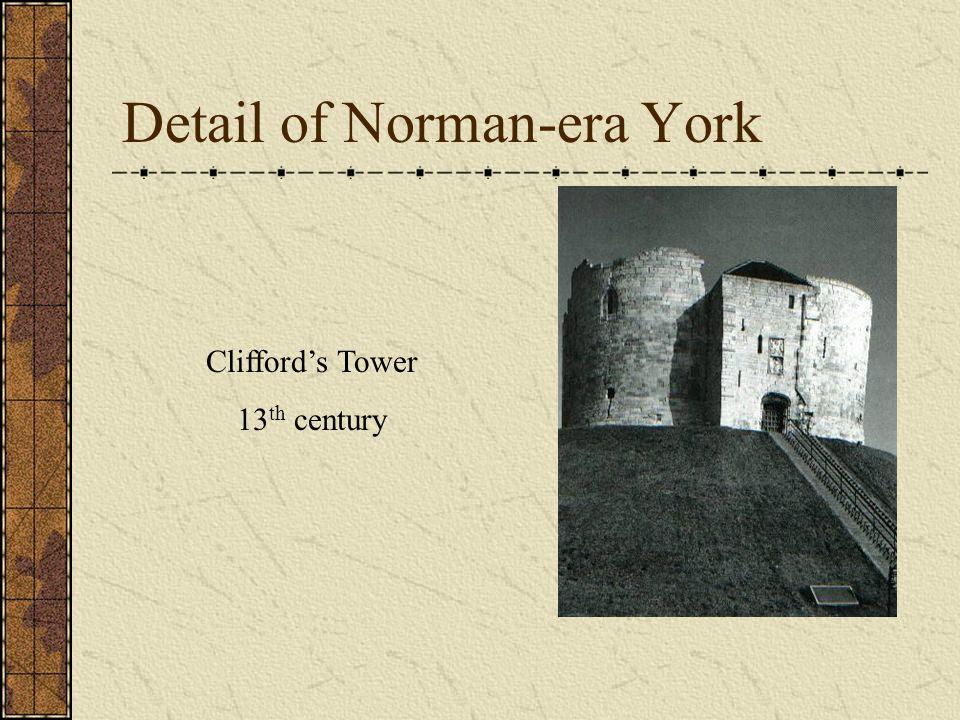Detail of Norman-era York