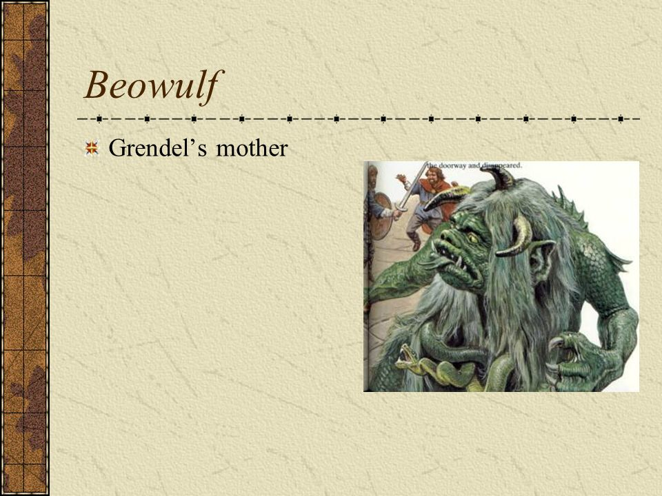Beowulf Grendel's mother