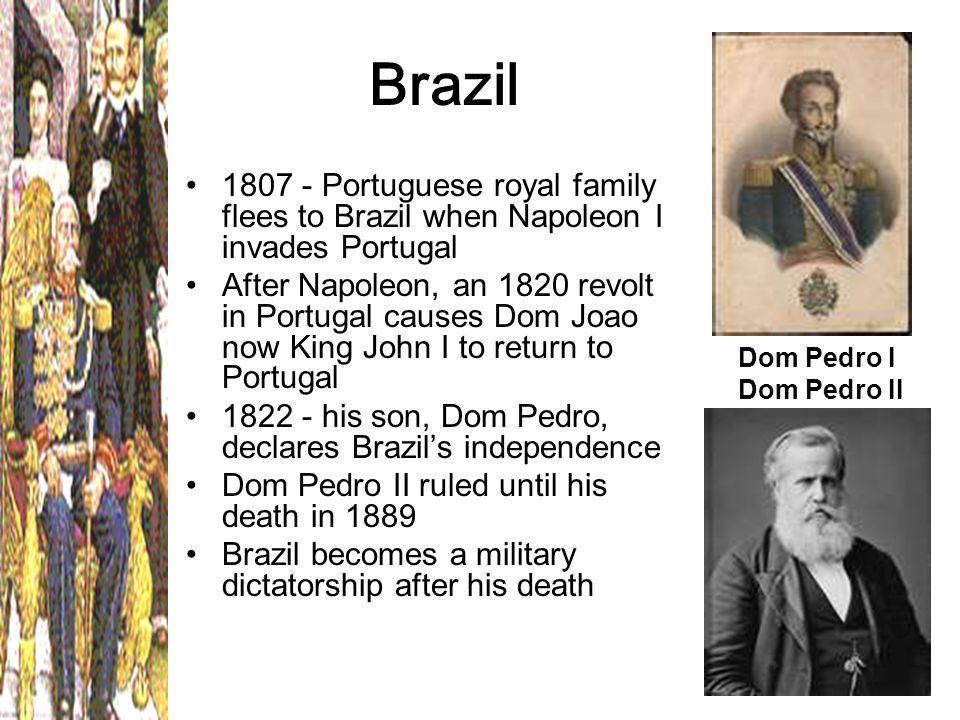 dom pedros struggle to brazils liberty Macaulay, neill, dom pedro: the struggle for liberty in brazil and portugal, 1798-1834, durham, nc: duke university press, 1986 cite this article pick a style below, and copy the text for your bibliography.