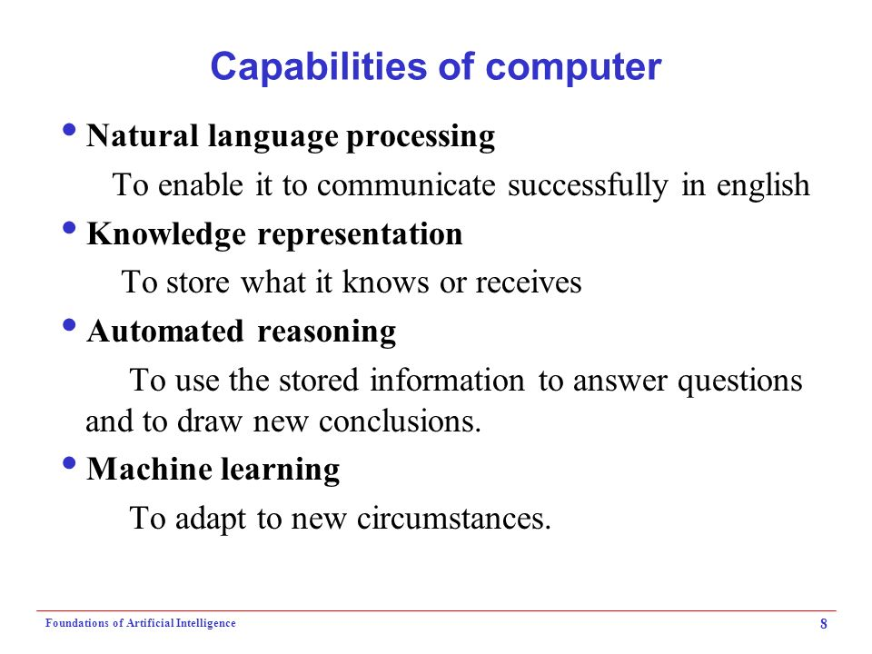 alan turing questions the capabilities of artificial intelligence Big questions online is alan turing both inventor of the basic ideas of the modern computer and a pioneer of artificial intelligence.