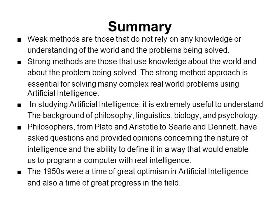 artificial intelligence searle vs dennet Artificial vs natural intelligence while ai researchers are trying to replicate our mental functions, many people are scared that ai will replace them.