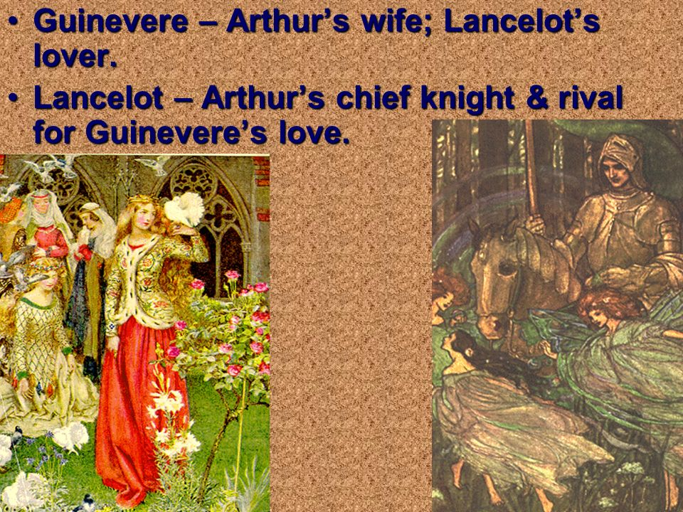 guinevere and lancelot relationship questions