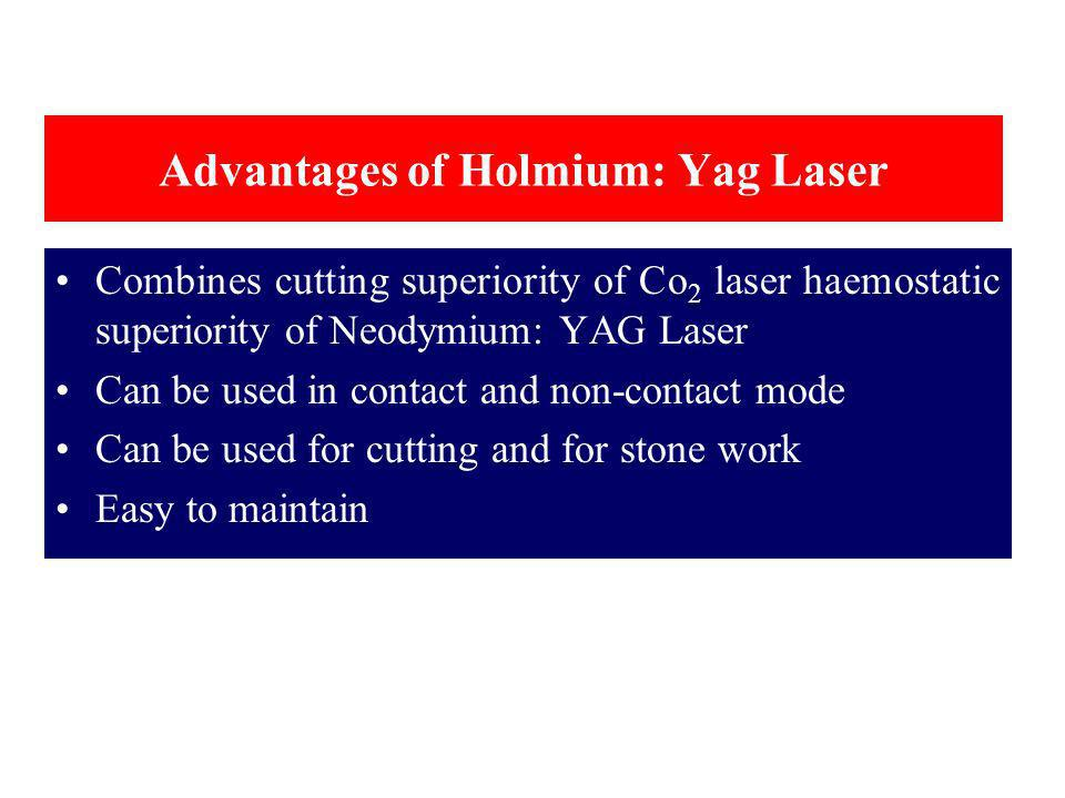 Advantages of Holmium: Yag Laser