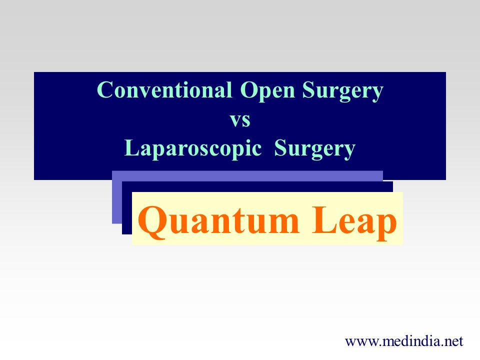 Conventional Open Surgery