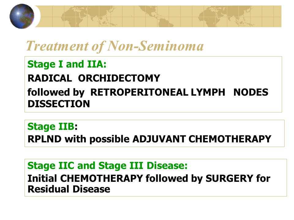 Treatment of Non-Seminoma
