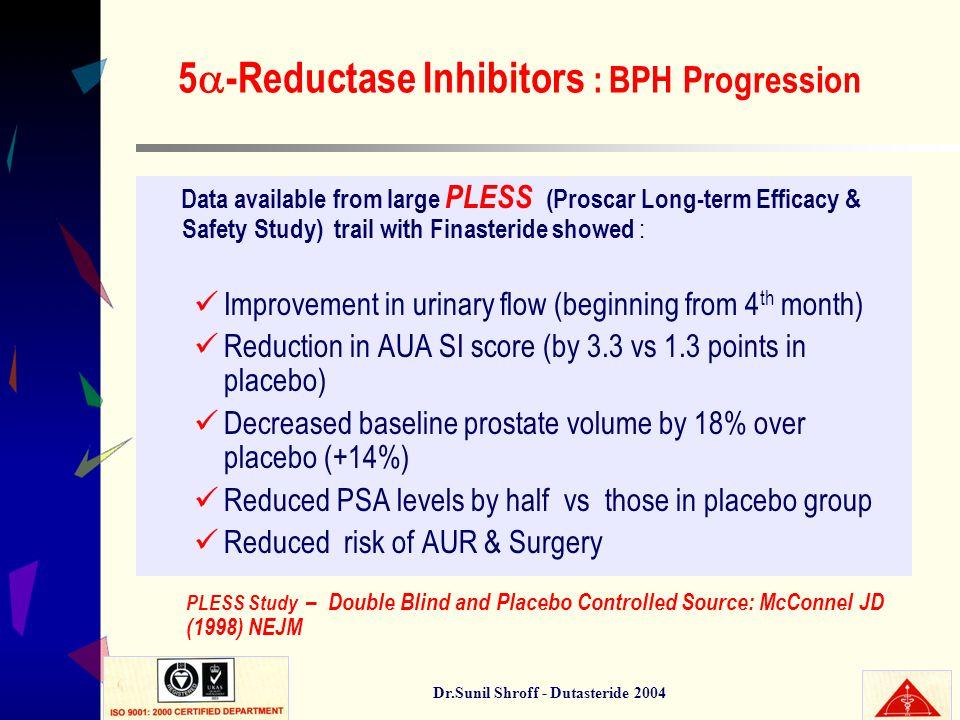 5-Reductase Inhibitors : BPH Progression