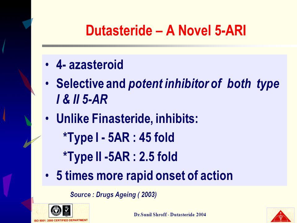 Dutasteride – A Novel 5-ARI
