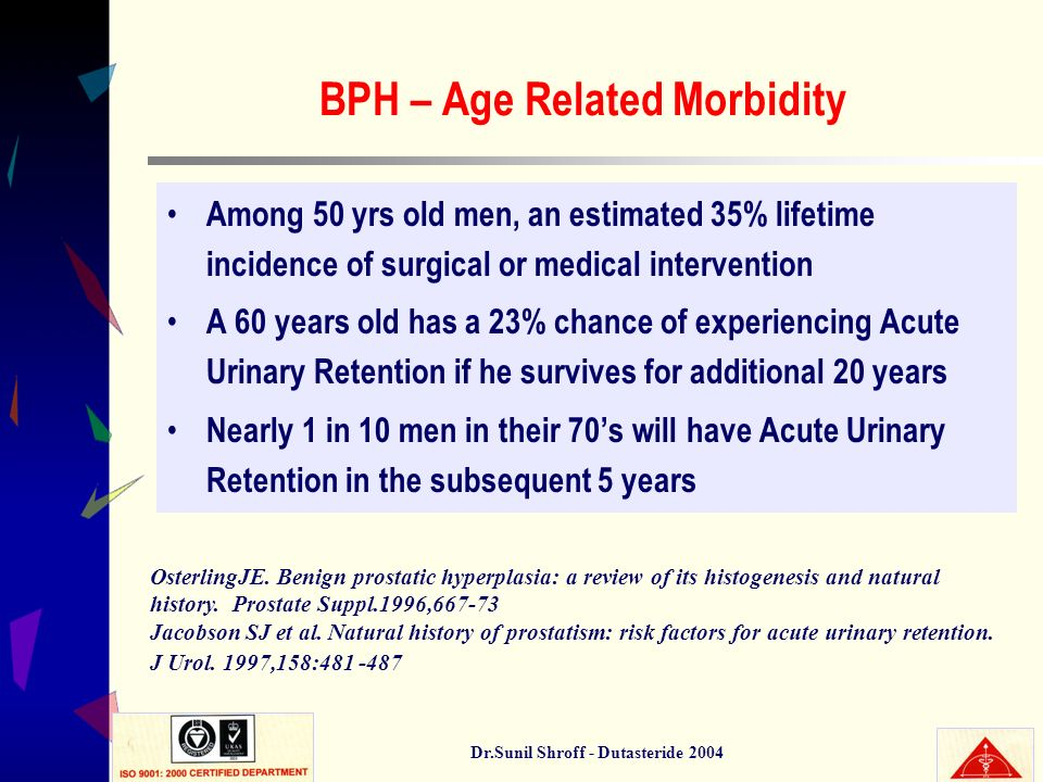 BPH – Age Related Morbidity
